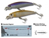 Yo-zuri Arms Minnow SP Micro
