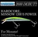 Duel Hardcore Minnow 120F/S Power